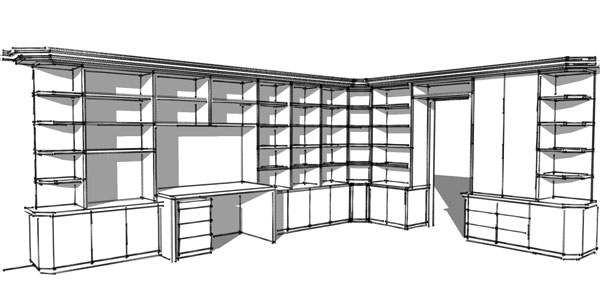 linear einrichtung. Black Bedroom Furniture Sets. Home Design Ideas